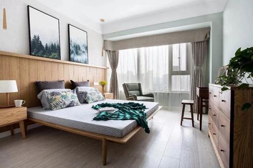 给卧室铺贴原木地板,你会选择什么颜色的?