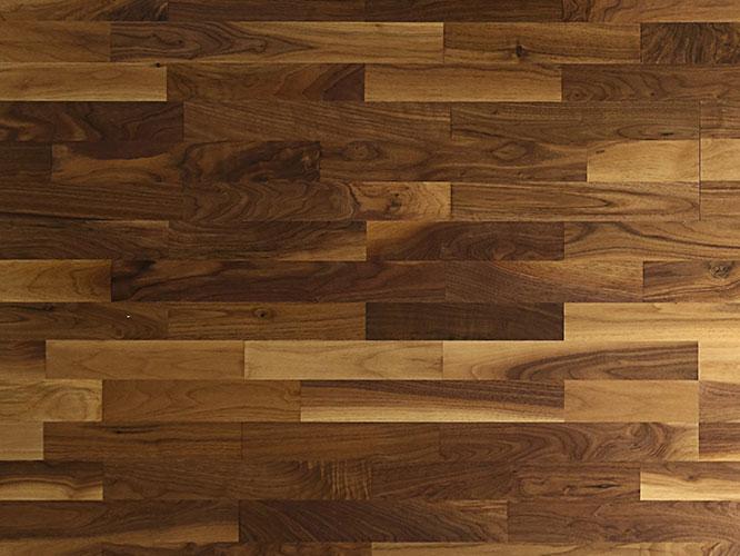 胡桃木三拼地板