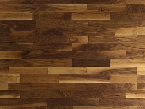 道诺胡桃木三拼地板